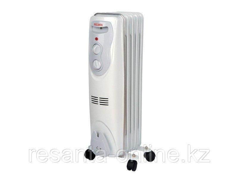 Масляный радиатор РЕСАНТА ОМ-5Н (1 кВт)