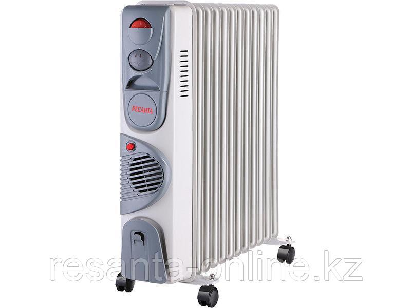 Масляный радиатор РЕСАНТА ОМ-12НВ (2,5 кВт)
