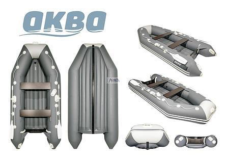 Лодка ПВХ Аква 3200 НДНД , фото 2