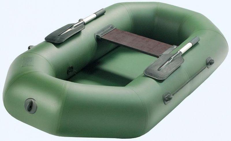 Лодка ПВХ Аква-оптима 190 с гребками