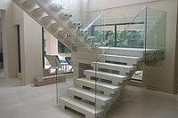 Cтеклянные лестницы, перила