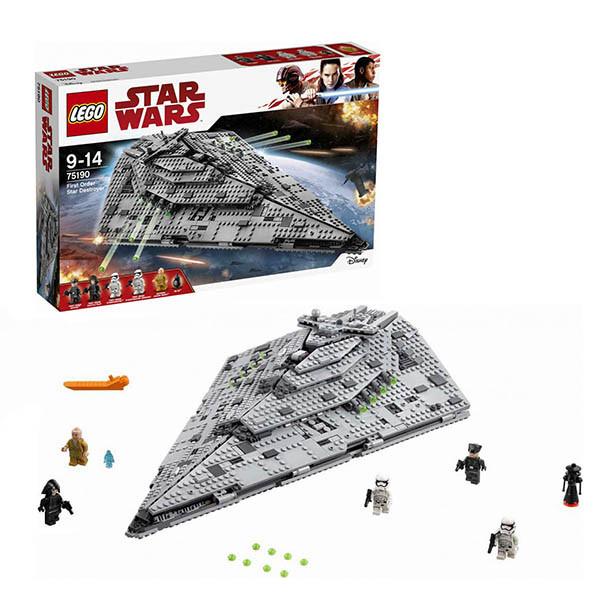 Игрушка LEGO  Звездные войны Звездный разрушитель Первого Ордена™