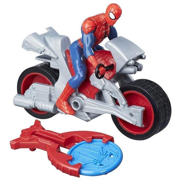 Игрушка Hasbro Spider - man фигурки ЧЕЛОВЕК-ПАУК и стартер