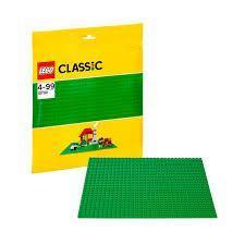 Игрушка Классика Строительная пластина зеленого цвета