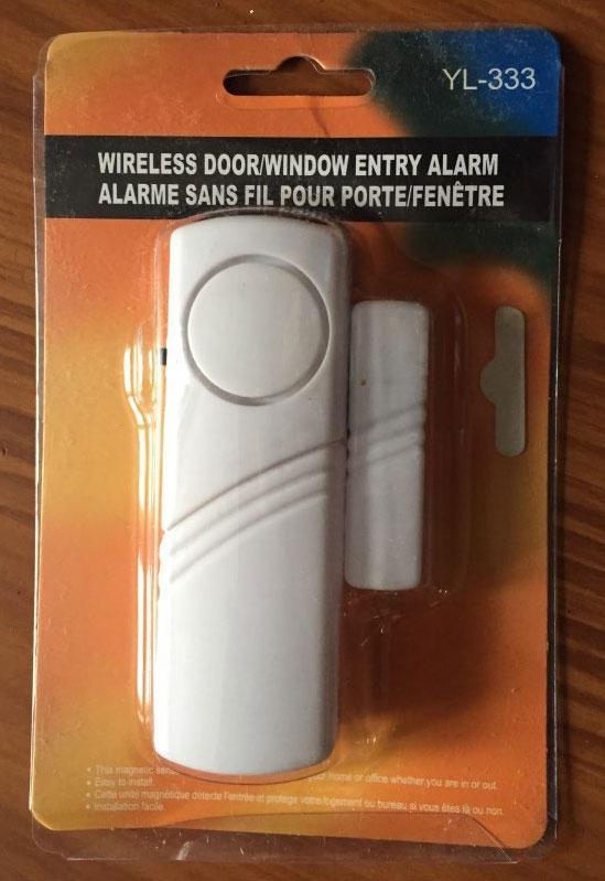 Датчик-сигнализация на двери и окна 333