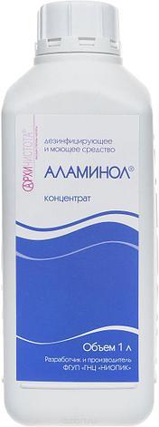 """Дезинфицирующего средства """"Аламинол""""  1л, фото 2"""