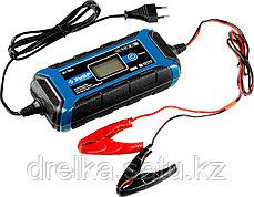 Зарядное устройство для автомобильного аккумулятора ЗУБР 59300, ПРОФЕССИОНАЛ, 6В/12В, 4А, автомат, IP65, AGM., фото 2