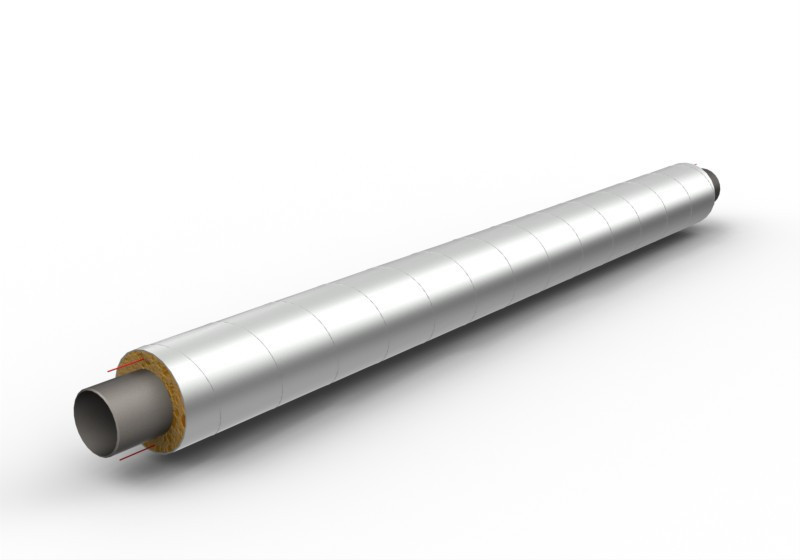 Труба в изоляции ППУ 219 х 60