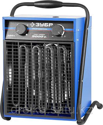Тепловая пушка электрическая ЗУБР ЗТПЭ-9000-Ф_М2, ЭКСПЕРТ, квадрат, двойные стенки (термос), фото 2
