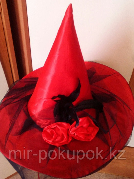 Шляпа ведьмы с вуалью, Алматы