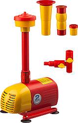 Насос фонтанный GRINDA GFP-33-2.5, для чистой воды, 3 насадки, пропускная способность 2000 л/ч