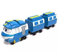"""Роботы-поезда, Игровой набор """"Кей с прицепом"""""""