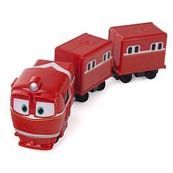 """Роботы-поезда, Игровой набор """"Альф с прицепом"""""""