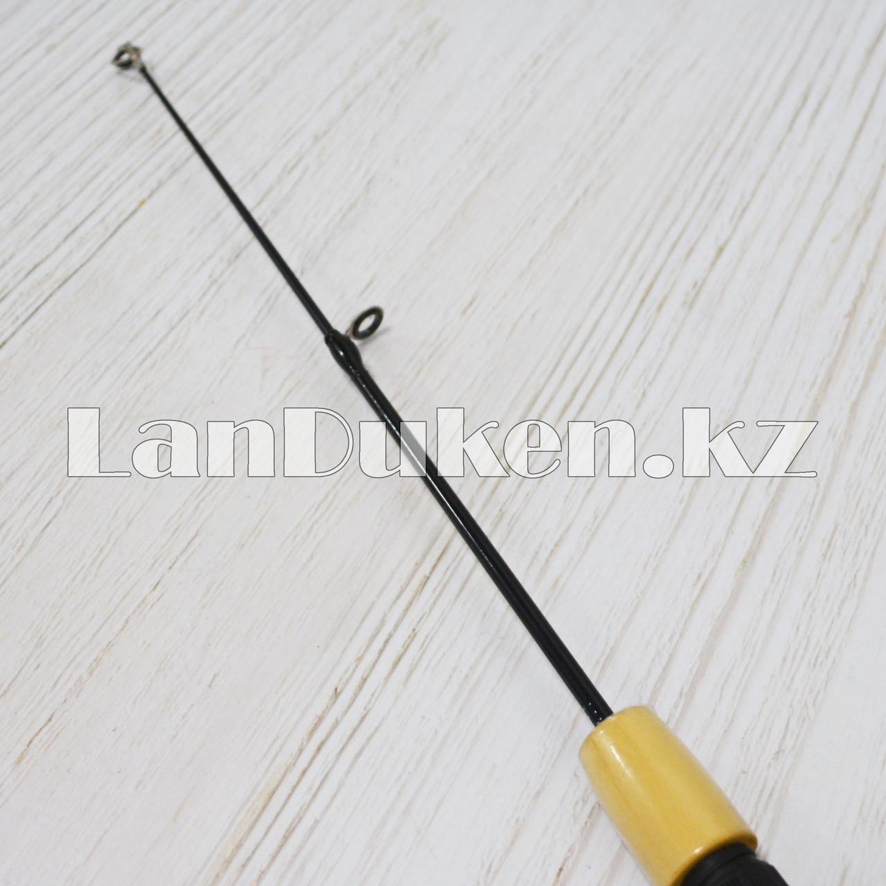 Удочка для зимней рыбалки с выдвижным телескопическим хлыстиком Xing Sheng 55 см. - фото 2