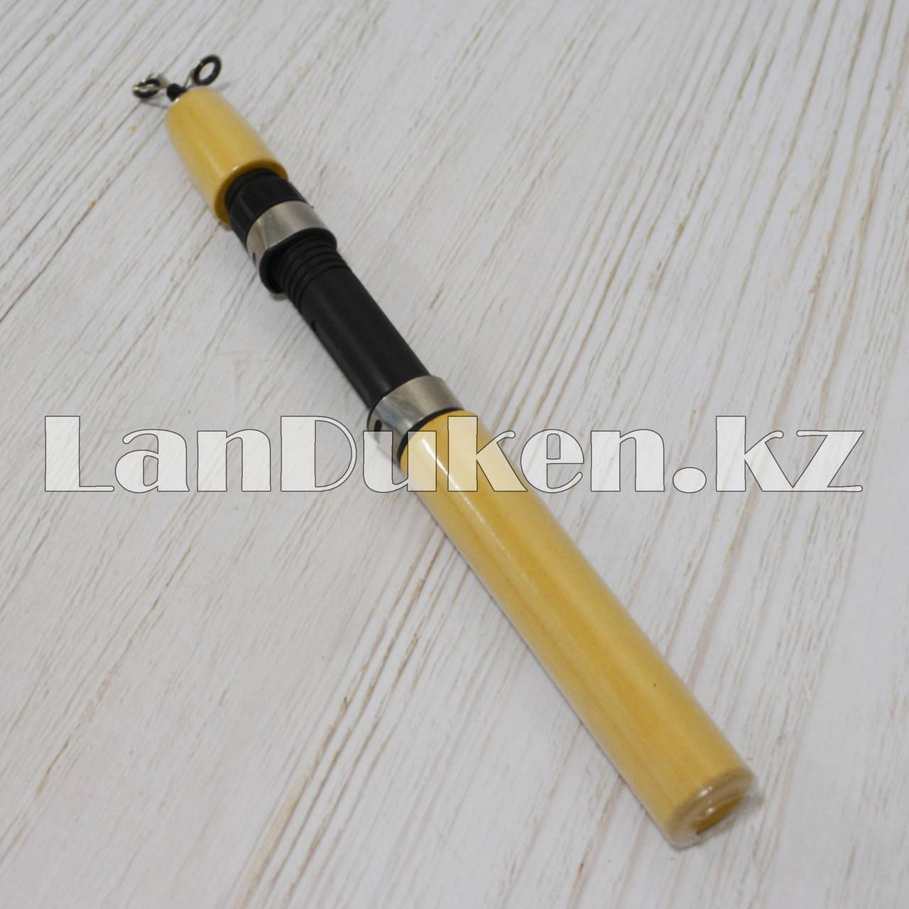 Удочка для зимней рыбалки с выдвижным телескопическим хлыстиком Xing Sheng 55 см. - фото 3