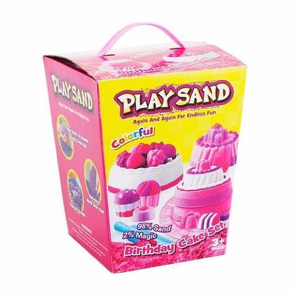 Кинетический песок Play Sand Birthday Cake Set, фото 2