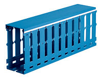 Короб перфорированный, синий Т1 25х30