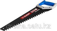 Ножовка по пенобетону (пила) БЕТОНОРЕЗ 500 мм, шаг 20 мм, 23 твердосплавных резца, твердосплавные напайки, фото 3