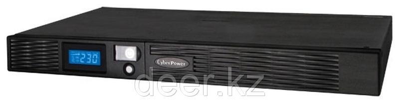 Интерактивный ИБП, CyberPower PR1000ELCDRT1U, выходная мощность 1000VA/670W
