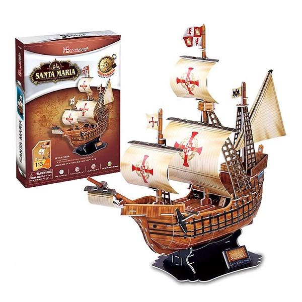"CubicFun Корабль ""Санта-Мария"""