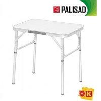 Стол складной 600*450*250/590 алюминиевый, МДФ. PALISAD Camping