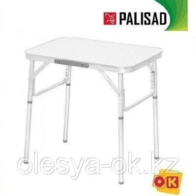 Стол складной 600*450*250/590 алюминиевый, МДФ. PALISAD Camping, фото 2