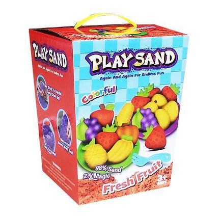 Кинетический песок Play Sand Fresh Fruit, фото 2