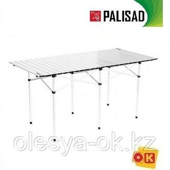 Стол складной 1400 x 700 x 700 мм, алюминиевый. PALISAD Camping. , фото 2