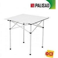Стол складной 700 x 700 x 700 мм, алюминиевый. PALISAD Camping. 69584