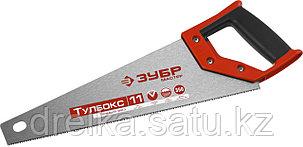Ножовка специальная (пила) ЗУБР МОЛНИЯ-Тулбокс 350 мм, 11 TPI, прямой зуб, точный рез, импульсная закалка, фото 2