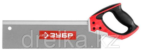 Ножовка с обушком для стусла (пила) ЗУБР 35 х 11 см, 13 TPI, точный рез, фото 2