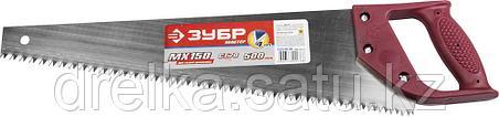 """Ножовка ЗУБР """"МАСТЕР"""" по дереву, прямой крупный зуб, пластиковая ручка, шаг зуба 6,5мм, 500мм     , фото 2"""