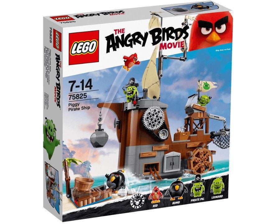 LEGO Angry Birds: Пиратский корабль свинок 75825 - фото 1
