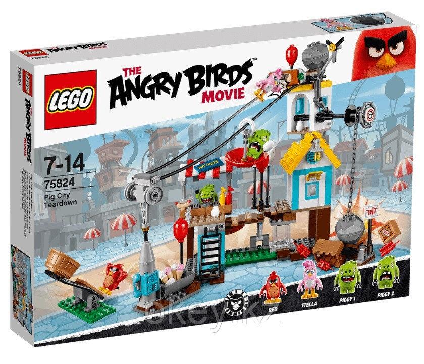 LEGO Angry Birds: Разгром Свинограда 75824