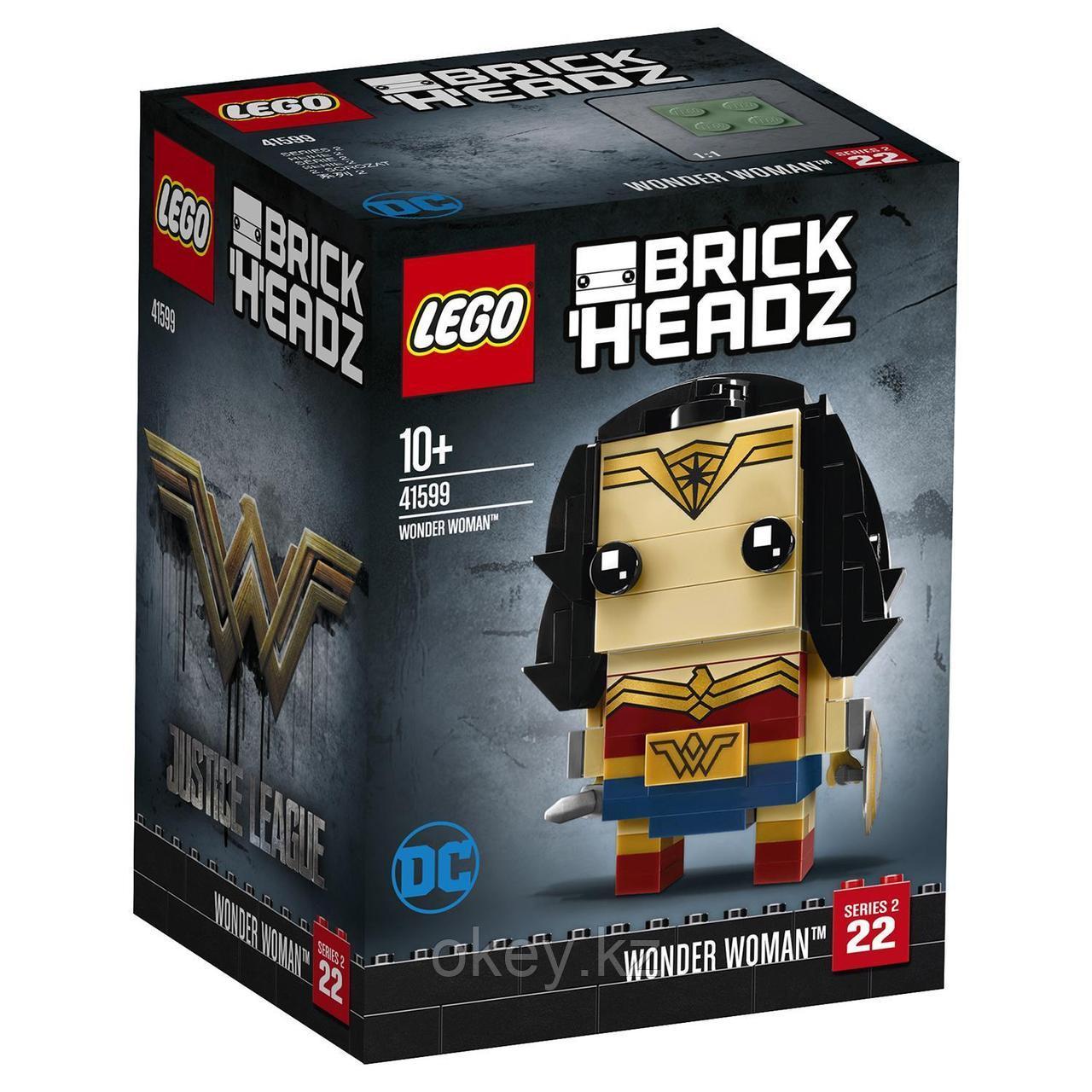 LEGO BrickHeadz: Чудо-женщина 41599