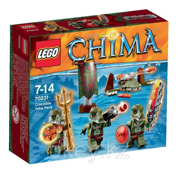 LEGO Chima: Лагерь Клана крокодилов 70231