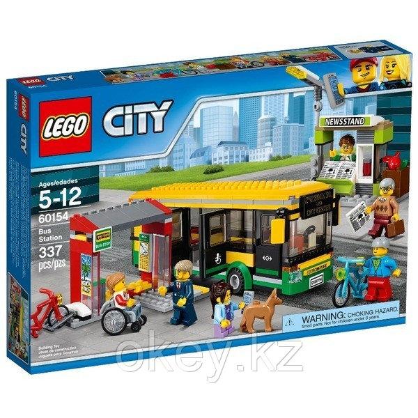 LEGO City: Автобусная остановка 60154