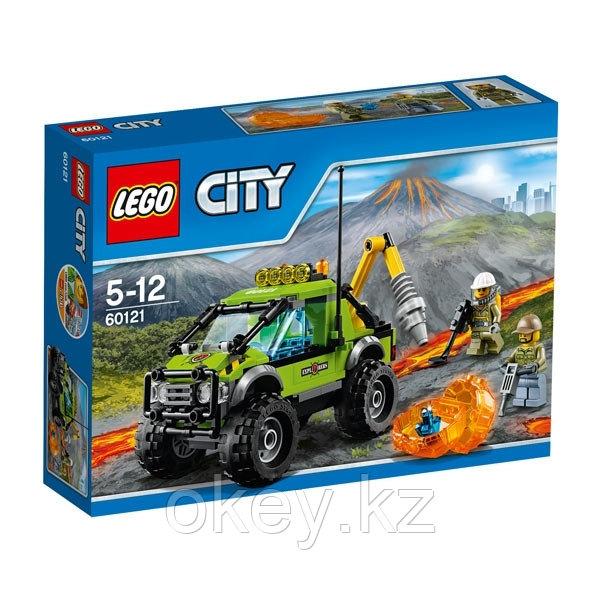 LEGO City: Грузовик исследователей вулканов 60121
