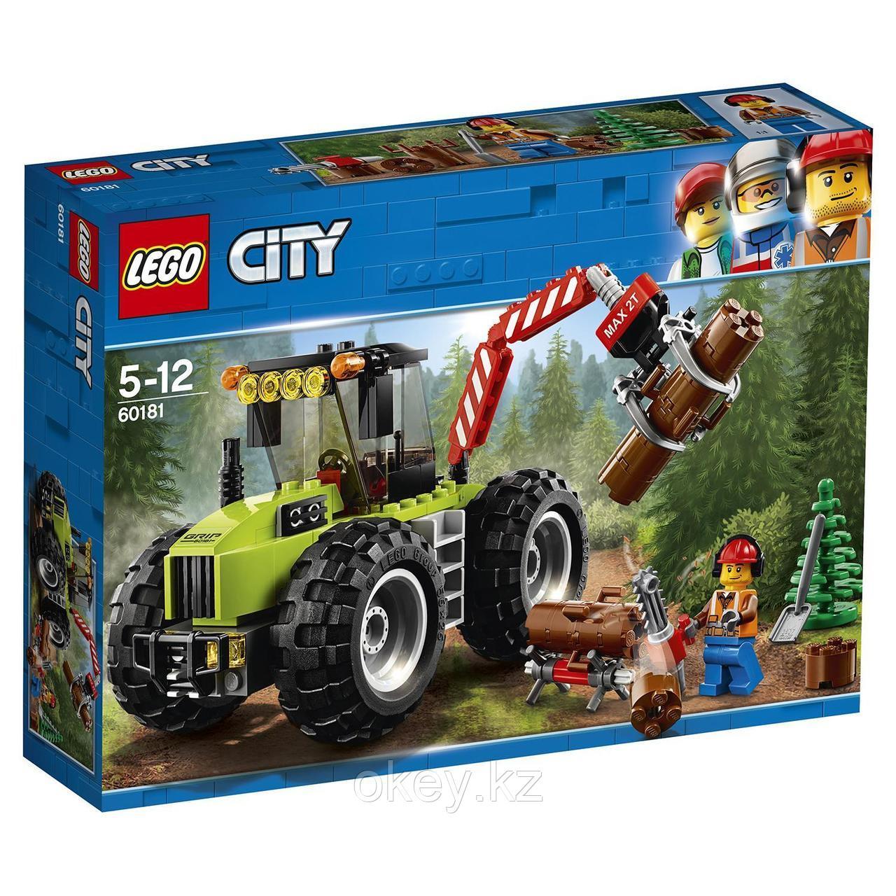 LEGO City: Лесной трактор 60181
