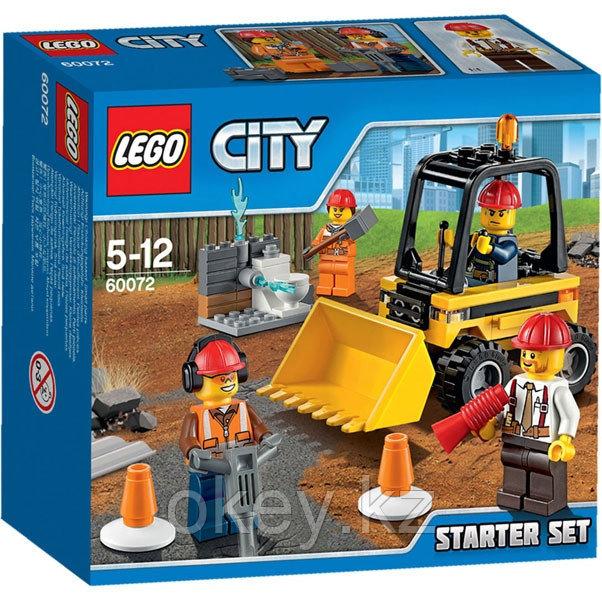 LEGO City: Набор Строительная команда для начинающих 60072