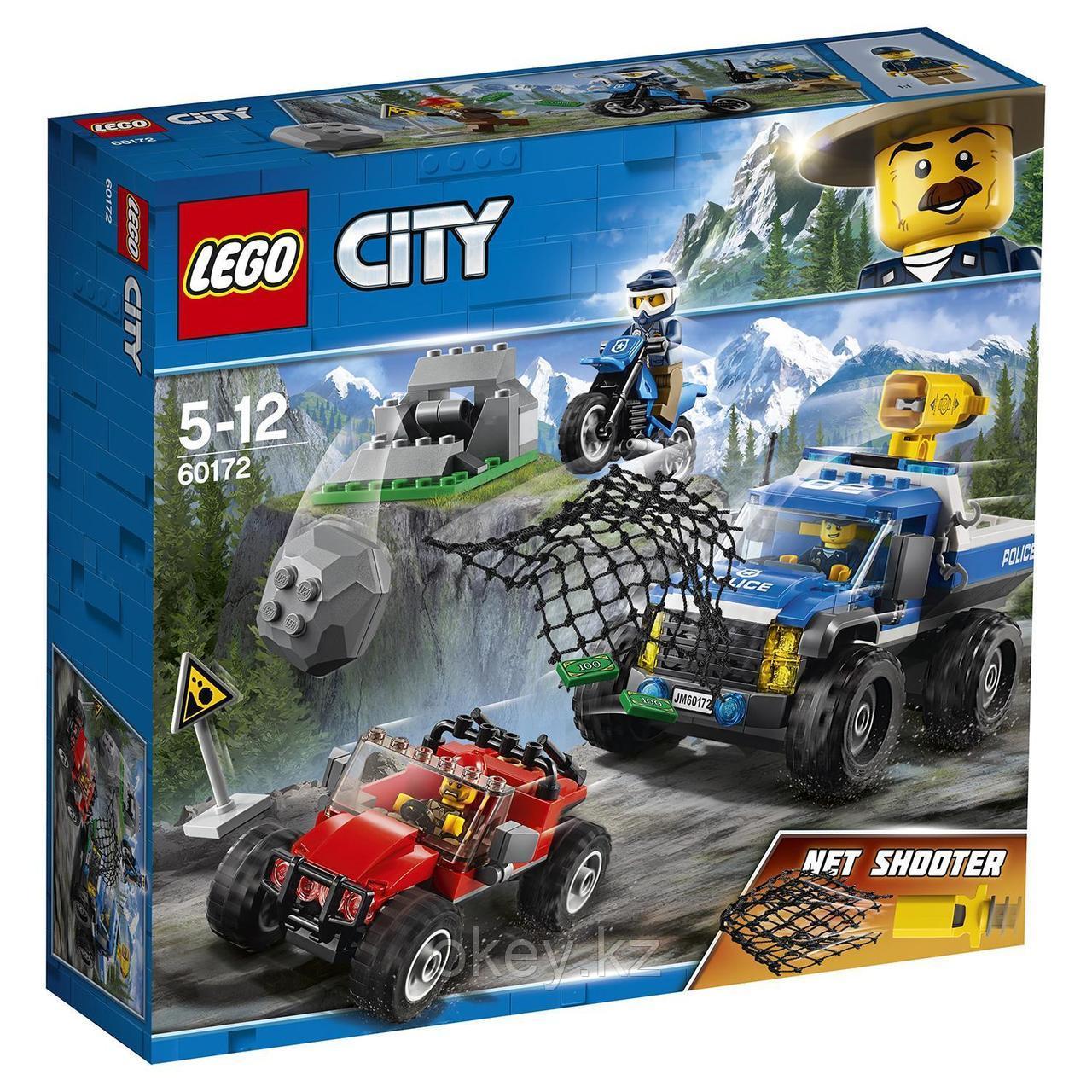 LEGO City: Погоня по грунтовой дороге 60172