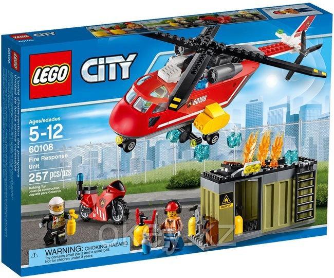 LEGO City: Пожарная команда быстрого реагирования 60108