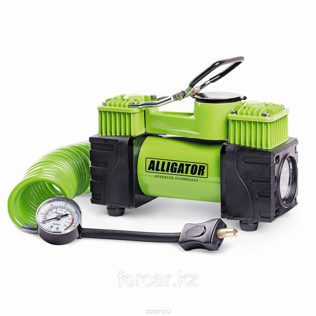 Цельнометаллический компрессор двухпоршневой ALLIGATOR AL-500