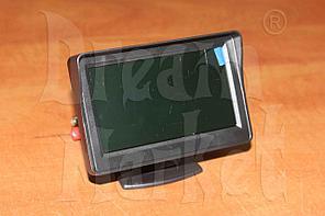 Автомобильный монитор 4.3 дюйма GT-420, на ножке, цветной
