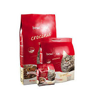 Сухой корм для взрослых привередливых кошек Bewi Cat Crocinis крокет