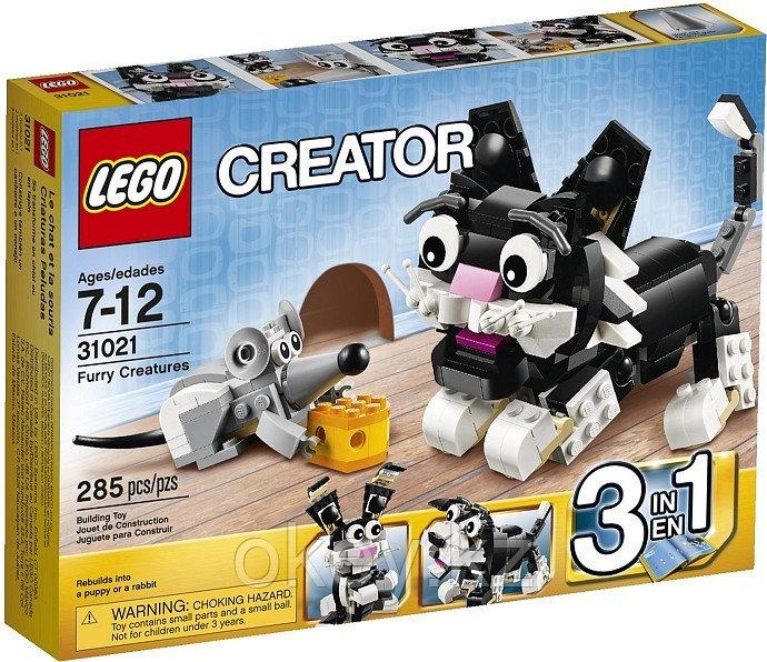 LEGO Creator: Пушистые зверюшки 31021