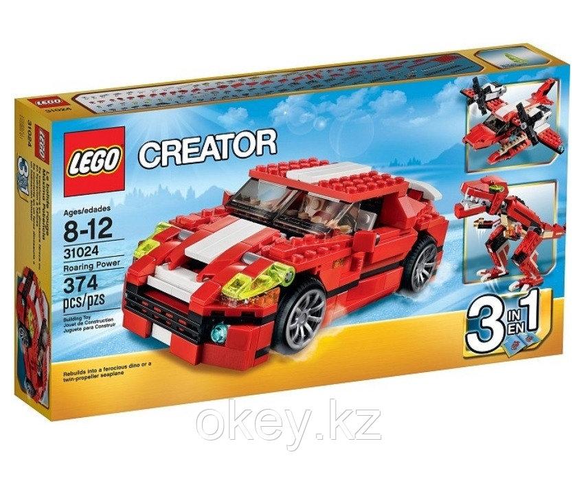 LEGO Creator: Красный мощный автомобиль 31024