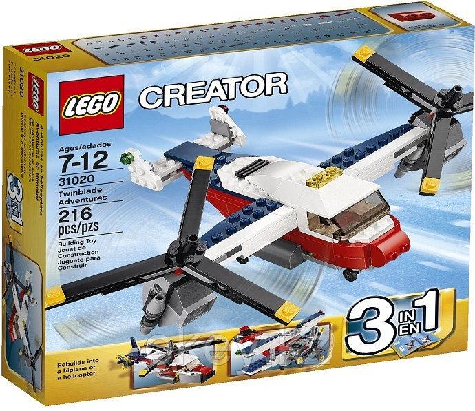 LEGO Creator: Приключения на конвертоплане 31020