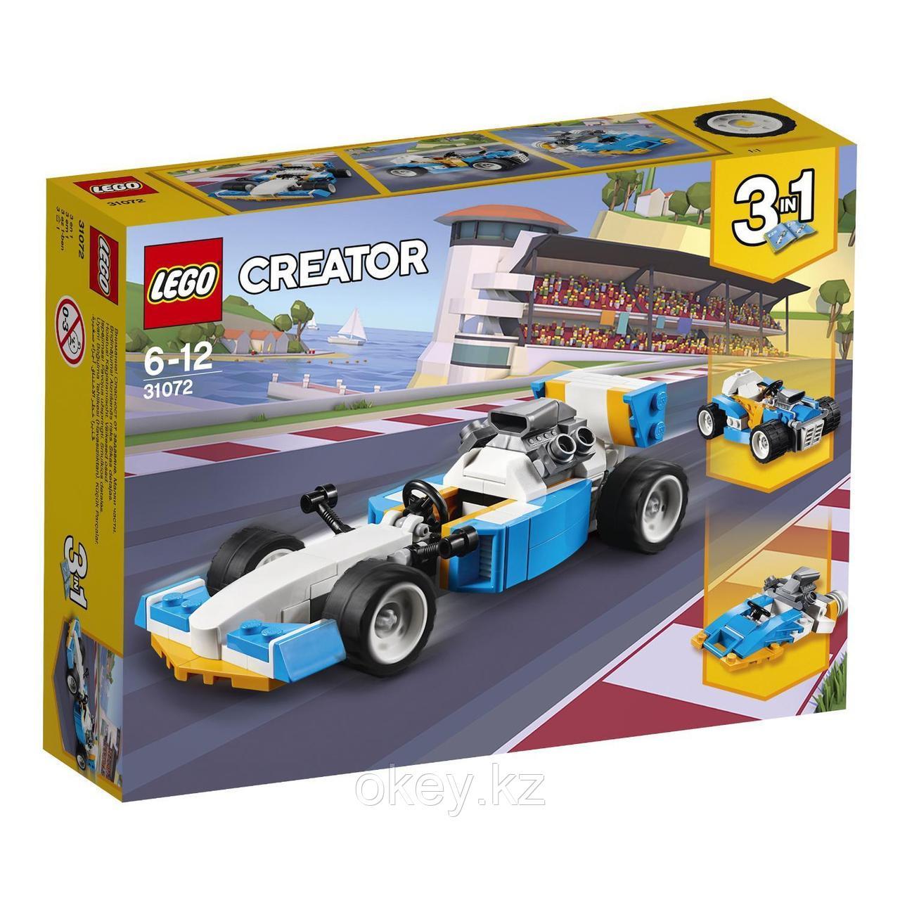 LEGO Creator: Экстремальные гонки 31072