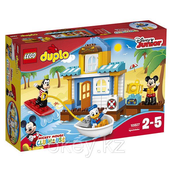LEGO Duplo: Домик на пляже 10827